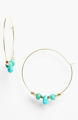 Rachel Beaded Hoop Earrings (Juniors)