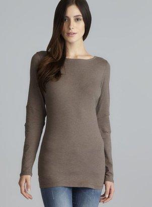 Andrea Jovine Long Sleeve Quick Dry Back Seam Top