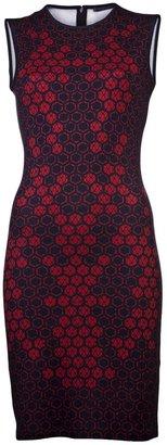 Alexander McQueen Lace print dress