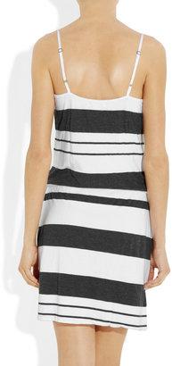 James Perse Striped jersey dress