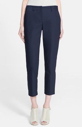 Theory 'Bedina' Cotton Blend Cigarette Pants