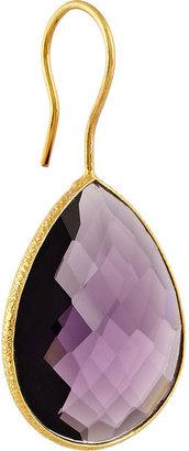 Chan Luu Gold-plated amethyst earrings