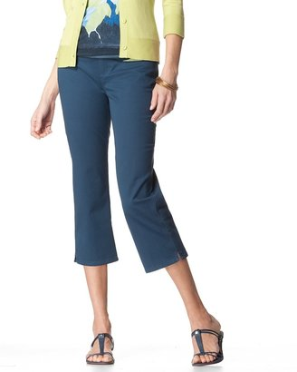Coldwater Creek Sunwashed jean crops