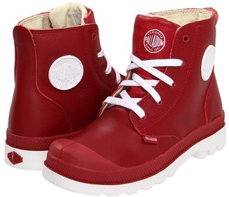 Palladium Pampa Hi Lace Leather Kids Shoes