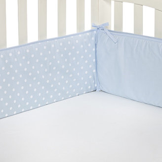 T.L.Care TL Care® Blue Polka Dot Crib Bumper
