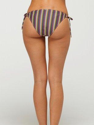 Roxy Sunrise to Sunset Brazilian String Bikini Bottoms