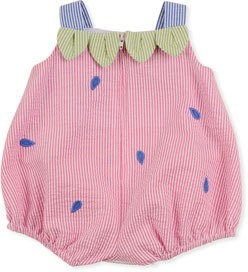 Florence Eiseman Strawberry Creek Baby Romper, Multi, 12-24 Months