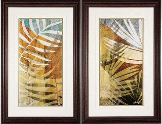 Rooms To Go Palm Frond I/II - Set of 2 Framed Prints