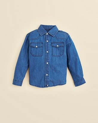 Sovereign Code Boys' Chambray Shirt - Sizes 2-7