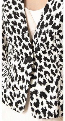 Thakoon Angry Leopard Blazer