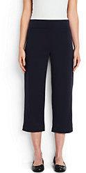 Lands' End Women's Starfish Crop Pants-White