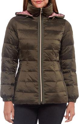 Kate Spade Hooded Down Puffer Coat