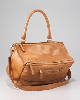 Givenchy Pandora Shiny Chic Satchel Bag, Medium