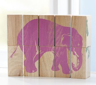 Pottery Barn Kids Wooden Animal Puzzles