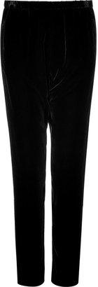 L'Agence LAgence Black velvet pants