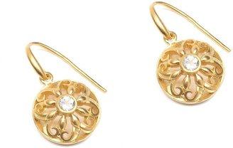 Nicole Miller Renata Floral Diamond Earrings