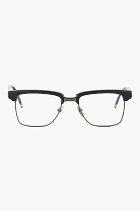 Thom Browne Matte Black/Black Iron Optical Glasses