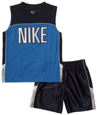 Nike Velocity Muscle Newborn Boys' Shorts Set