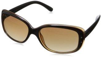 Calvin Klein Women's CWR654SL 001 Rectangular Sunglasses