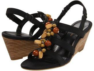 Bandolino Glendale (Black/Black Synthetic) - Footwear