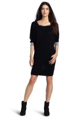 Michael Stars Women's Color Block Sweater Dress