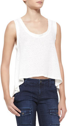 Soft Joie Pine Sleeveless Crop Top