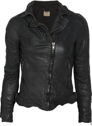 Muu Baa Muubaa Nassau leather biker jacket
