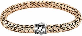 John Hardy Classic Bronze Men's Woven Chain Bracelet