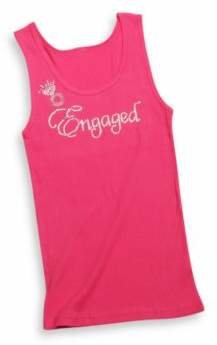 """Engaged' Tank Top Extra Large in Raspberry $14.99 thestylecure.com"