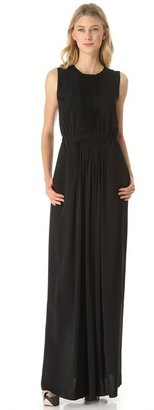 No.21 No. 21 Crepe Gown with Lace Back