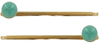 France Luxe Little Pearl Bobby Pin Pair