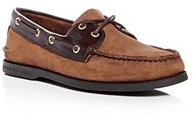Sperry Men's Authentic Original Two Eye Nubuck Leather Boat Shoes