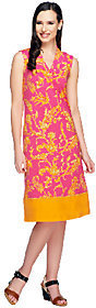 Liz Claiborne New York Regular Border Print Knit Dress $12.60 thestylecure.com