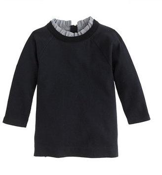 J.Crew Girls' ruffle-collar tunic