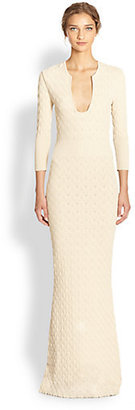 Alexander McQueen Knit Gown
