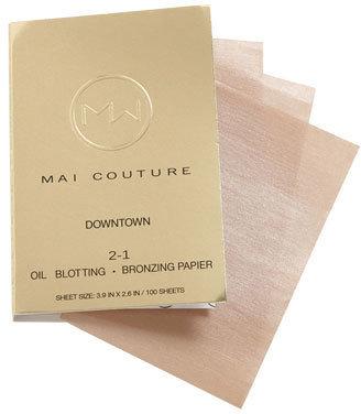 Mai Couture '2-1' Blotting & Bronzing Papier