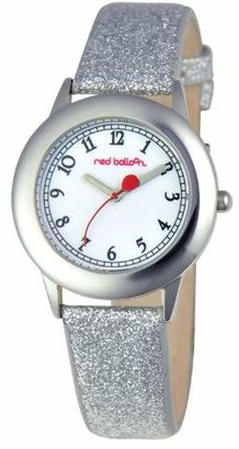 """Red Balloon Kids' W000352 """"Tween"""" Stainless Steel Watch with Silver Glittered Band"""