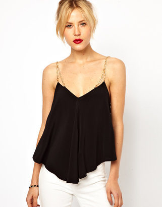 Asos Cami With Chain Straps