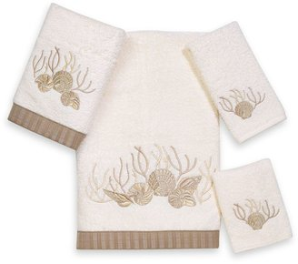 Avanti Premier Sunset Beach Washcloth in Ivory
