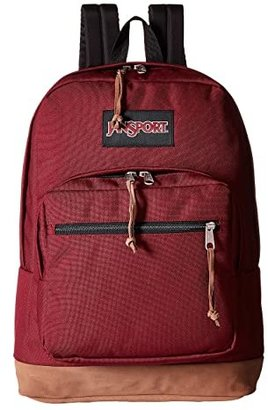 JanSport Right Pack (Russet Red) Backpack Bags
