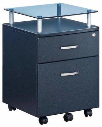 Techni Mobili Rolling and Locking File Cabinet Gray