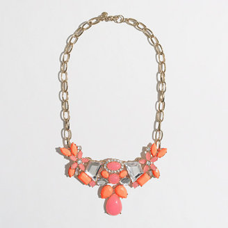 J.Crew Factory Factory flower cluster necklace