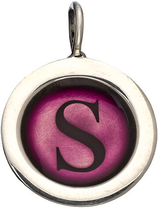 Heather Moore Jewelry Plum Round Wide Frame Charm
