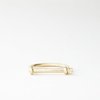 Miansai gold screw cuff