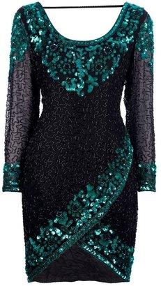 Oleg Cassini Vintage sequined party dress