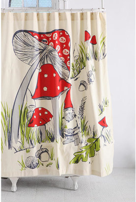 Urban Outfitters Gnomes Shower Curtain