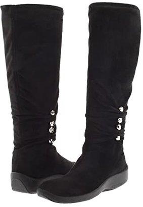 ARCOPEDICO Liana (Black Faux Suede) Women's Boots