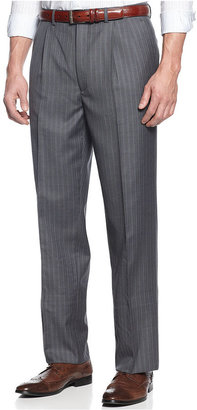Lauren Ralph Lauren Lauren by Ralph Lauren Suit, Grey Stripe with Blue Deco Vested