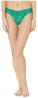 Hanky Panky Signature Lace V-Kini (Black) Women's Underwear