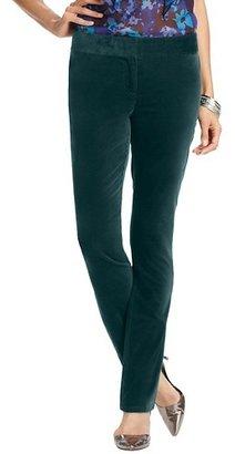 LOFT Tall Marisa Velvet Skinny Pants